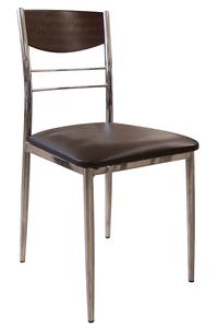 "Product Καρέκλα ""DINO"" Wenge/Καφέ base image"