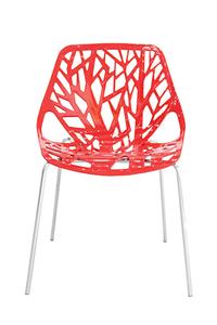"Product Καρέκλα ""Linea"" Κόκκινη base image"