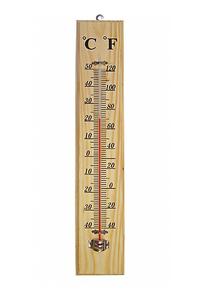Product Θερμόμετρο Εσωτερικού  - Εξωτερικού Χώρου Ξύλινο Green-Arrow 005857 base image