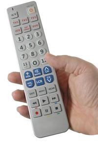 Product Τηλεχειριστήριο Universal Με Μεγάλα Πλήκτρα 6 Σε 1 Clic CL1802B base image
