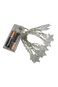 "Product Φωτάκια Χριστουγεννιάτικα ""Αστέρι"" 10 LED Benson 011297 base image"