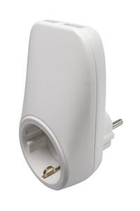Product Πρίζα Σούκο Με 2 USB Bellson 011620 base image