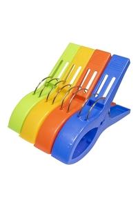 Product Μανταλάκια - Πιάστρες Για Πετσέτα Θαλάσσης Σετ 4 τεμ. Benson 012243 base image