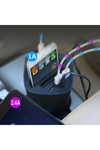 Product Θήκη 12/24V Με 3 Θύρες USB All Ride 03095 base image
