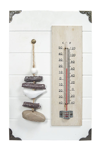 Product Θερμόμετρο Εσωτερικού MDF Arti Casa 03759 base image
