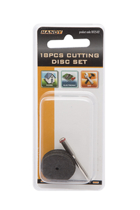 Product Δίσκοι Κοπής Ριτίνης Σετ 18 τεμ. Handy 10125-02 base image