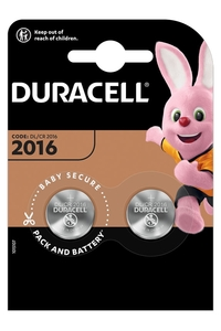 Product Μπαταρίες Λιθίου Duracell DL 2016 3V Σετ 2 τεμ. base image