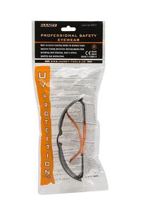 Product Γυαλιά Προστασίας Μαύρο / Πορτοκαλί Handy 10381GY base image