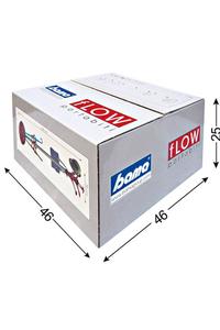 "Product Καλόγερος ""FLOW"" 170cm Γκρι base image"