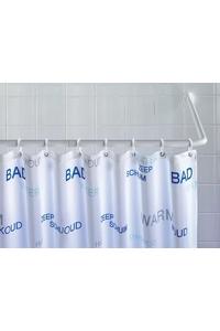 Product Σωλήνας Κουρτίνας Μπάνιου Αλουμινίου Λευκός 3 Σχηματισμών base image