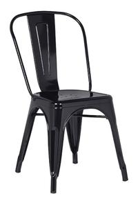 Product Καρέκλα Μεταλλική Μαύρη Χωρίς Μπράτσα Texas base image