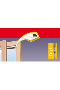Product Αυτοκόλλητο Μονωτικό Για Πόρτα - Παράθυρο Λευκό Σχήματος P Inofix base image