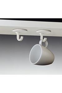 Product Γάντζοι Οροφής Λευκοί Σετ 4 τεμ. Inofix 2179 base image