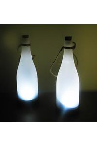 Product Ηλιακά Φωτιστικά Μπουκάλια Σετ 3 τεμ. Garden Kraft 24300 base image