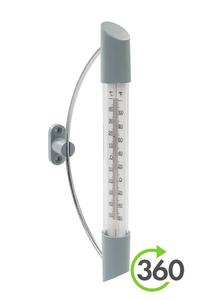 Product Θερμόμετρο Εσωτερικου - Εξωτερικού Χώρου Με Βάση Silverline 292388 base image