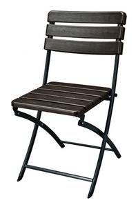 Product Καρέκλα Πτυσσόμενη Καφέ Garden Pleasure 304742 base image