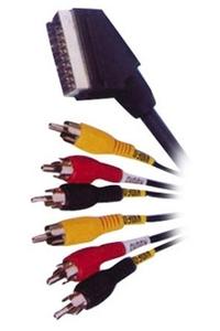 Product Καλώδιο Scart -Σε-6 RCA base image