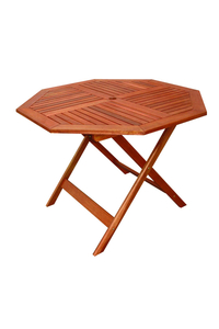Product Τραπέζι Οκτάγωνο 100cm Red Shorea base image