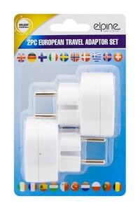 Product Αντάπτορες UK Σε Ευρωπαϊκό Σετ 2 τεμ. Elipne 31478c base image