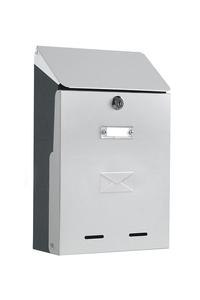 Product Γραμματοκιβώτιο Tuscania Inox / Ατσάλι 21x33x9cm base image