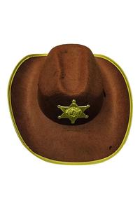 Product Αποκριάτικο Καπέλο Cowboy Παιδικό base image