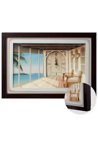 Product Ρολόι Τοίχου 3D Inart base image