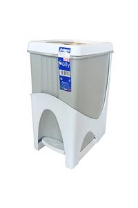 "Product Κάδος Με Πεντάλ 21Lt Λευκός Bama ""Pelly"" 40103 base image"