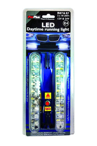 Product Φώτα Ημέρας 18 LED 12/24V Σετ 2 τεμ. ProPlus 417307 base image
