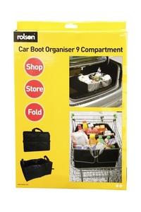 Product Τσάντα Οργάνωσης Πτυσσόμενη 9 Θεσεων Rolson 43019 base image