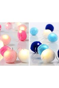 Product Φωτάκια 20 LED Pom Pom Σε 2 χρώμ. Hi 50026 base image