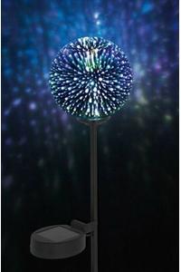 Product Ηλιακό Φωτιστικό 1 LED Με 3D Εφέ Garden Pleasure 507349 base image