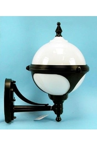 Product Φωτιστικό Φανάρι Τοίχου Αλουμινίου Μπάλα Happy 07508 base image
