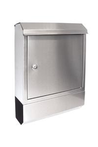 Product Γραμματοκιβώτιο Inox Με Βάση Για Εφημερίδες Garden Pleasure 509160 base image