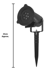 Product Προβολέας Εορτών & Εκδηλώσεων LED Με 12 Μοτίβα Global Gizmos 51030 base image