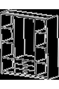 "Product Ντουλάπα Τετράφυλλη ""OMEGA"" base image"