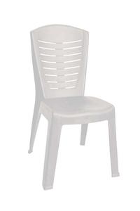 """Product Καρέκλα """"Κλεοπάτρα"""" Λευκή base image"""
