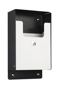 Product Κάδος Απορριμάτων Τοίχου Σκούρο / Ανοιχτό Γκρι 21x36x10cm base image