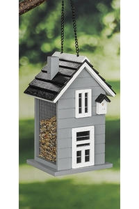 Product Ταΐστρα Πουλιών Σπιτάκι Γκρι Hi 57282 base image