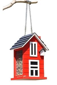 Product Ταΐστρα Πουλιών Σπιτάκι Κόκκινο Hi 57282 base image