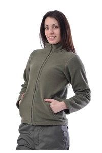 """Product Ζακέτα Fleece Χακί """"Ιέραξ"""" base image"""