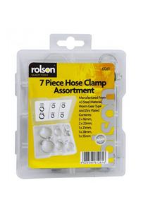 Product Σφιγκτήρες Λάστιχου 7 Τεμ. Rolson 61261 base image