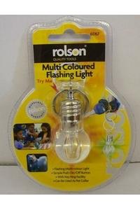 Product Φακός Μπρελόκ Flash LED Rolson 61767 base image