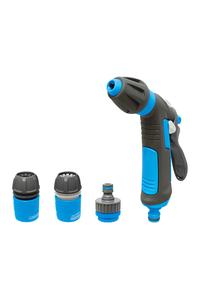 Product Σετ Πιστόλι Νερού Πλαστικό 2 Λειτουργιών Με Συνδέσμους Aquacraft 740531 base image