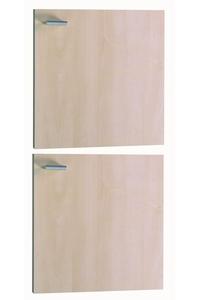 "Product Πόρτα Επίπλου ""FLAVIO"" 2 τεμ Γκρι - Κρεμ base image"