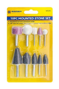 Product Πέτρες Ακονίσματος Σετ 10 τεμ. Marksman 68529c base image