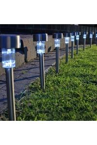 Product Ηλιακά Φωτιστικά 1 LED Μεταλλικά Σετ 4 τεμ. Hi 70162 base image