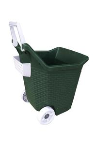 "Product Καρότσι ""KART"" Πράσινο 76Lt base image"