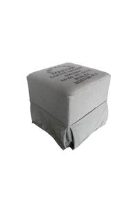 "Product Σκαμπό Υφασμάτινο Γκρι ""Bolivian"" base image"