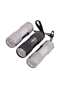 Product Φακοί Αλουμινίου 9 LED Σετ 3 τεμ. Rolson 61760 base image