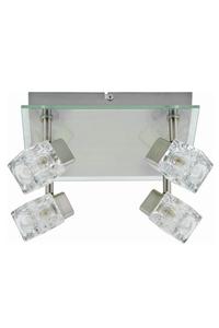 """Product Φωτιστικό Σποτ Τετράφωτο Amtech """"ELECTRA"""" base image"""